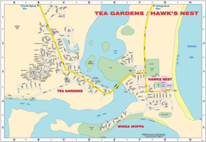 hawks nest bike map
